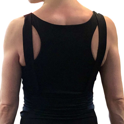 Super charge your Bralette Tank sports crop sewing pattern with this easy-to-sew sporty comfort with nine extra strap options!
