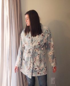 Sometimes, the most productive thing you can do is relax! And this adults bathrobe sewing pattern is exactly what you need for sublime spa vibes.