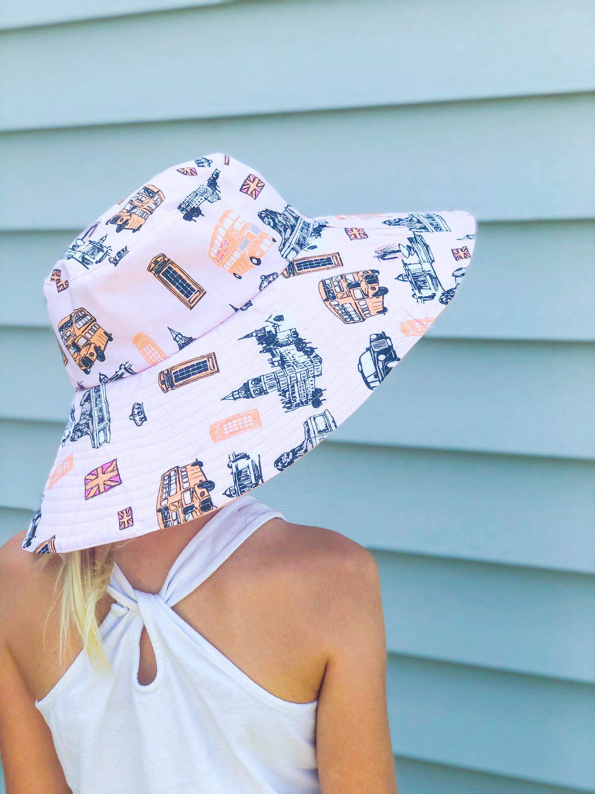 Sun Hat Sewing Pattern 13 To 24 Inch Circumference Rebecca Page