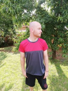 This mens tee sewing pattern in sizes XXS to 4XL is a super comfy and and flattering boxy t-shirt warbdrobe winner and subscriber-exclusive FREEBIE!