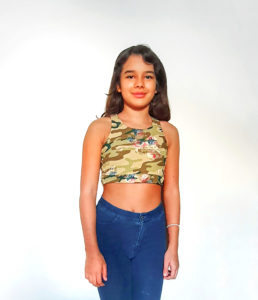From crop top to workout top, with an optional phone pocket, this childrens tank top sewing pattern takes you where you need to go.