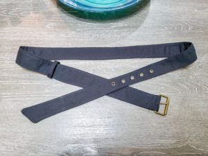 Make yourself the perfect finishing touch for your wardrobe with this classic belt sewing pattern. This super quick sew comes in 13 sizes.