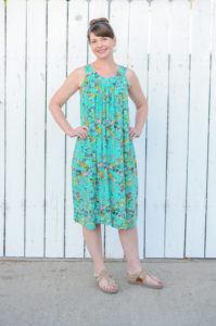 Sew some fresh summery style with this every day essential. The Yoke Dress sewing pattern has three lengths and comes in sizes XXS to 5XL.