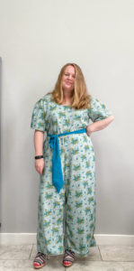 Sew this gorgeous jumpsuit sewing pattern in a weekend! With detailed instructions on how to make a romper from an old dress or from scratch.