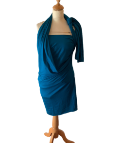 A simple sew bursting with comfort, style, and options! This draped infinity dress sewing pattern is the ultimate wardrobe staple, and comes in sizes XXS to 5XL and 12 months to 12 years.