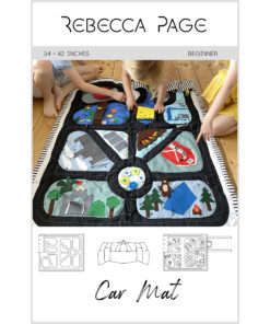 Sew a simple car mat or an intricate labor of love for hours of interactive play. This car mat sewing pattern makes a beautiful heirloom treasure.