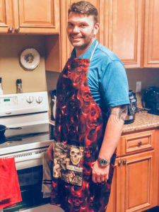 The brand-new apron pattern is a fun, functional, and fast sew for the whole family! Ten sizes, to fit a chest from 18.5 to 59 inches, everyone will love these!