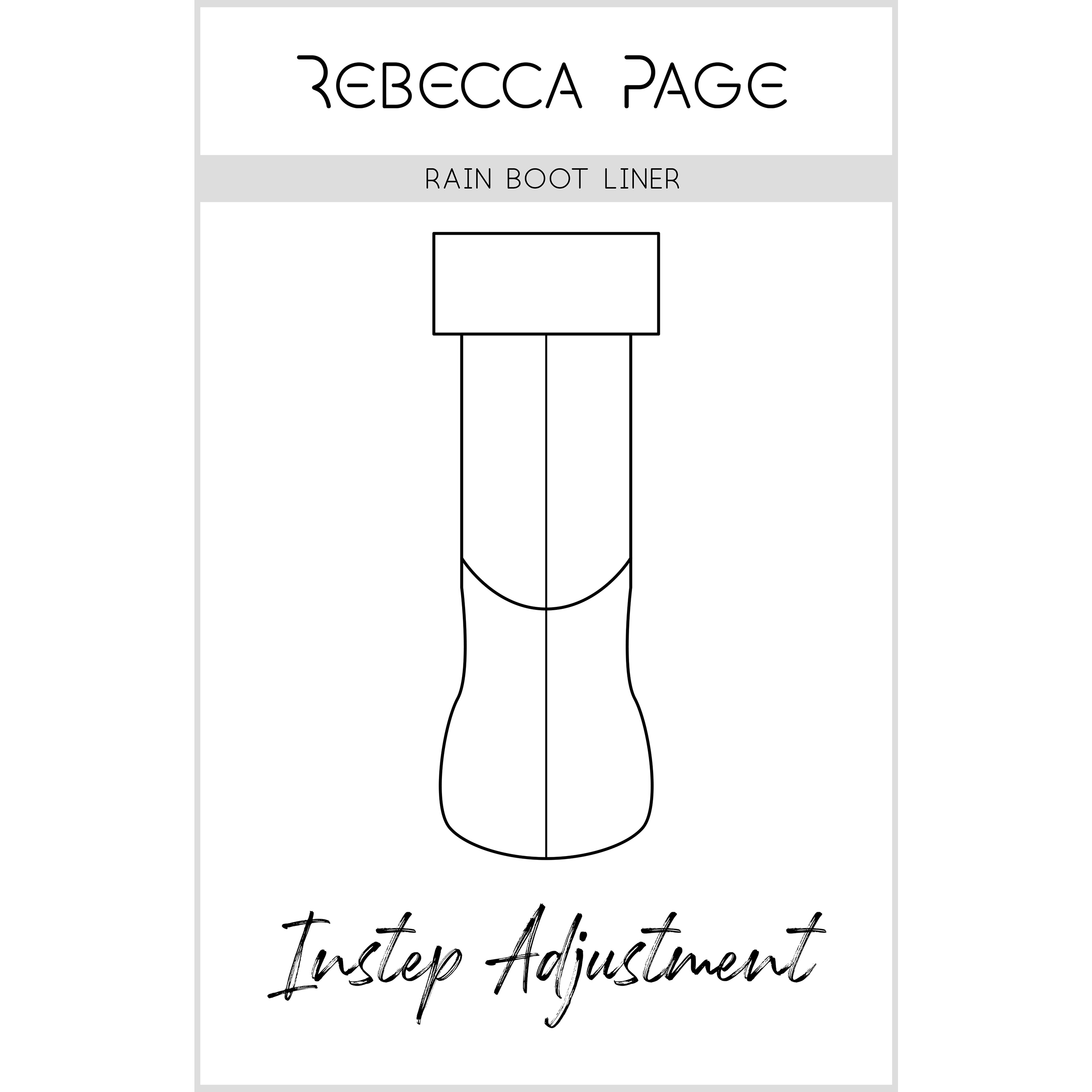 Instep Fitting Adjustment