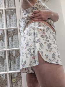 Sew the comfiest lingerie shorts in a few hours with this sewing pattern. Wear as modesty layer or for sleeping. Available in sizes XXS to 5XL