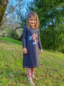 Sew the ultimate wardrobe staple with the tshirt dress sewing pattern. Loads of options and it comes in sizes 12 months to 12 years.