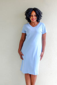 Sew the ultimate wardrobe staple with the womens tshirt dress sewing pattern. Loads of options and it comes in sizes XXS to 5XL.