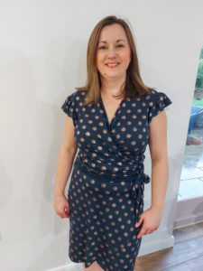 A stylish design with head-turning features, the Flutter Wrap Dress sewing pattern is a beginner-friendly sew in sizes XXS to 5XL.