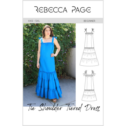Swing into summer with a stylish silhouette! The women's Tie Shoulder Tiered Dress is a breezy summer dress that comes in sizes XXS to 5XL