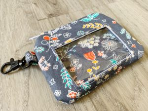Use your fabric scraps for this ID Wristlet Sewing Pattern: a cute and practical accessory for day-today use.