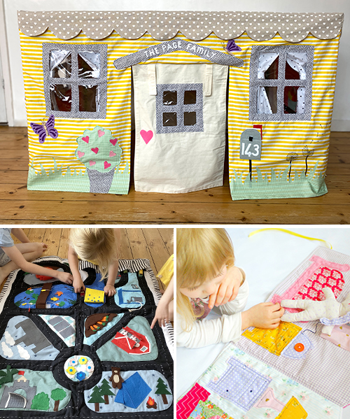 Sew the ultimate interactive toys with this thoughtfully-curated collection of sewing patterns; hours of whimsical and immersive play.