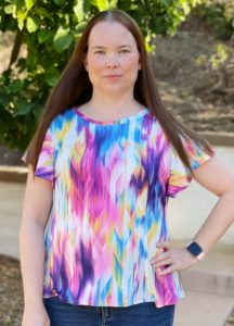 Delight in comfort and style with the women's butterfly-sleeve dress sewing pattern! The Ruffle Sleeve Tunic Dress comes in sizes XXS to 5XL.