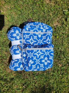 Explore the outdoors and picnic in style with this picnic backpack sewing pattern; a versatile and modern take on the traditional picnic basket