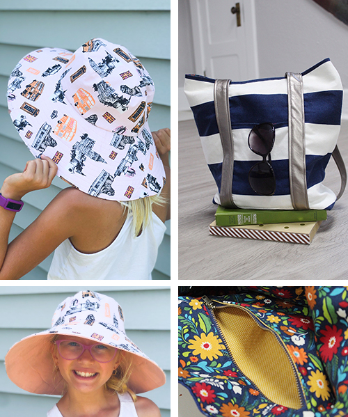 Hit the beach in style with the practical, and super cute, Beach Essentials Bundle. Your day outside just got that much better with some sun protection and a handy tote bag.