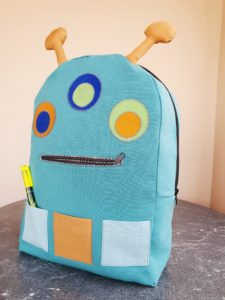 Make your backpack come alive with character and charm! This backpack sewing pattern has loads of personality and fun options.